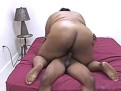 Ebony BBW cant get enough fucking