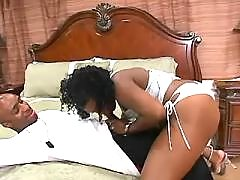 Porn adventure with appetizing ebony fatty