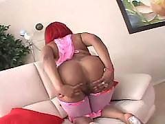 Cock hungry ebony big lady wants it hard